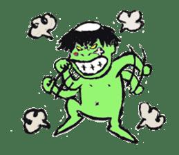GREEN DEVIL - KAPPY - sticker #319388