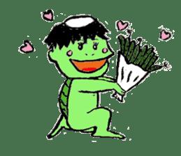 GREEN DEVIL - KAPPY - sticker #319391