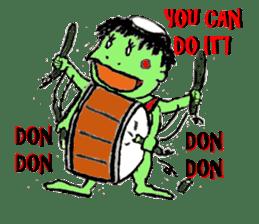 GREEN DEVIL - KAPPY - sticker #319394