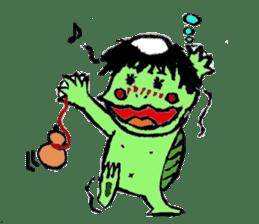 GREEN DEVIL - KAPPY - sticker #319401
