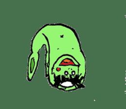 GREEN DEVIL - KAPPY - sticker #319405