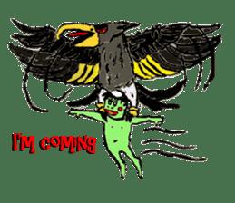 GREEN DEVIL - KAPPY - sticker #319408