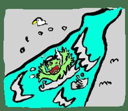GREEN DEVIL - KAPPY - sticker #319410