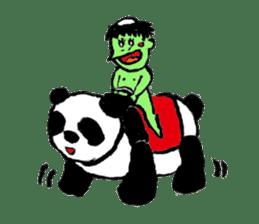 GREEN DEVIL - KAPPY - sticker #319414