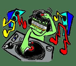 GREEN DEVIL - KAPPY - sticker #319420