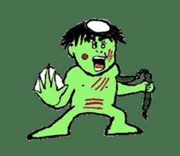 GREEN DEVIL - KAPPY - sticker #319423