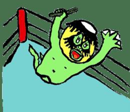 GREEN DEVIL - KAPPY - sticker #319424