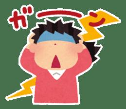 Irasutoya Girl sticker #319966