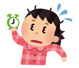 Irasutoya Girl sticker #319967