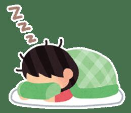 Irasutoya Girl sticker #319968