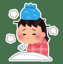 Irasutoya Girl sticker #319982