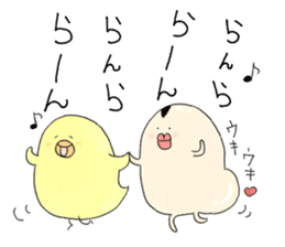 Chickens and friends sticker #320553