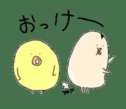 Chickens and friends sticker #320577