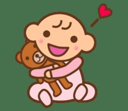 Baby notebook sticker #321342