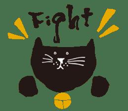 Ms. momoko of a black cat sticker #321998