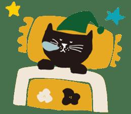 Ms. momoko of a black cat sticker #322004