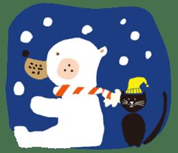 Ms. momoko of a black cat sticker #322023