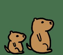 PDOG~Prairie dog~ sticker #323335