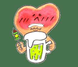 Dancing Heartsan sticker #323476