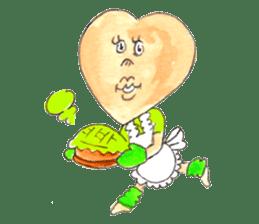 Dancing Heartsan sticker #323489