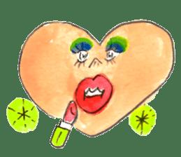 Dancing Heartsan sticker #323492