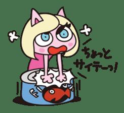 Cat Cat Gong Show! sticker #324487