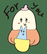 KOMARIMAYUGE-boy sticker #325228