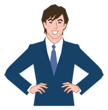 Businessman sticker #325269