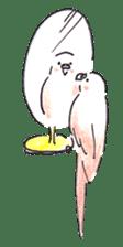 Cute Little Parakeet - HAPPY LIFE sticker #325652