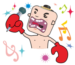 FIGHTING KID [NONG KANOMTOM] sticker #325894