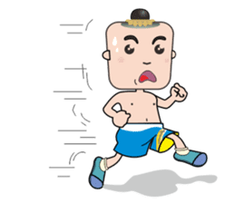 FIGHTING KID [NONG KANOMTOM] sticker #325898