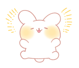 Marshmallow animals sticker #325946