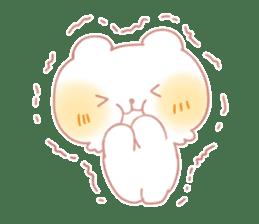 Marshmallow animals sticker #325948