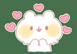 Marshmallow animals sticker #325949