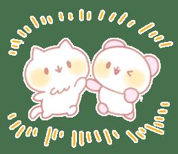 Marshmallow animals sticker #325951