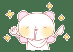 Marshmallow animals sticker #325953