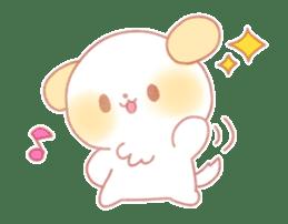 Marshmallow animals sticker #325954