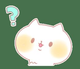 Marshmallow animals sticker #325956