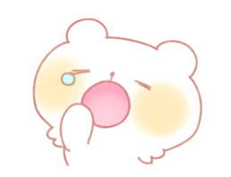 Marshmallow animals sticker #325960