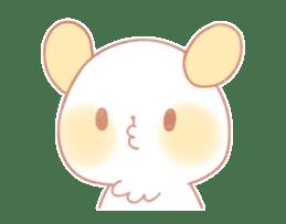 Marshmallow animals sticker #325961