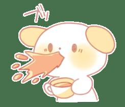 Marshmallow animals sticker #325969