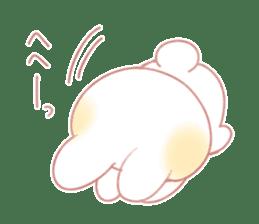Marshmallow animals sticker #325974