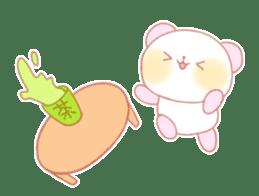Marshmallow animals sticker #325981