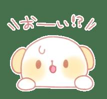 Marshmallow animals sticker #325982