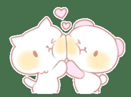 Marshmallow animals sticker #325984