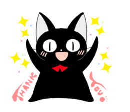 blackcat chibi sticker #327027