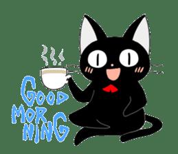 blackcat chibi sticker #327028