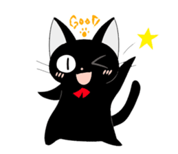 blackcat chibi sticker #327030