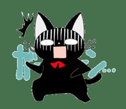 blackcat chibi sticker #327031