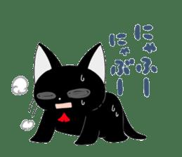 blackcat chibi sticker #327032